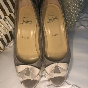 Beautiful Louboutin  classy gorgeous heel.
